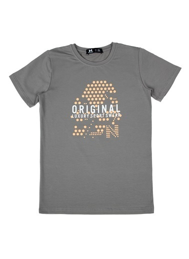 New Brand Tişört Gri